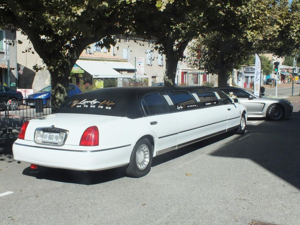 Limousine à Orange